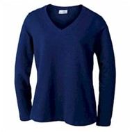 AKWA | AKWA LADIES' Made in U.S.A. V-Neck Pullover