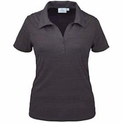 AKWA | AKWA LADIES' MADE IN USA Tiger Stripe Polo