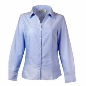 AKWA LADIES' Made in USA Button Down Shirt