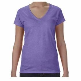 Anvil LADIES' Lightweight Fitted V-Neck Tee