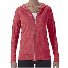 Anvil LADIES' Tri-Blend Full Zip Jacket