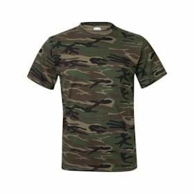 ANVIL Midweight Camouflage Tee