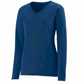 AUGUSTA L/S LADIES' Wicking T-Shirt