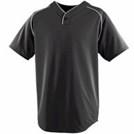 Augusta | Augusta Wicking One-Button Baseball Jersey