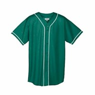 Augusta | Augusta Wicking Mesh Button Front Jersey
