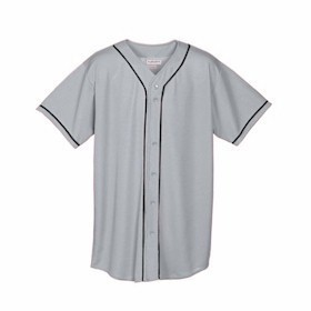 Augusta YOUTH Mesh Button Front Jersey