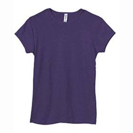 Bella | Bella Ladies 5.8 oz. Cotton 1x1 Rib Cap T-Shirt