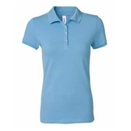 Bella | Bella Women's 5.6 oz. Mini Pique S/S Polo
