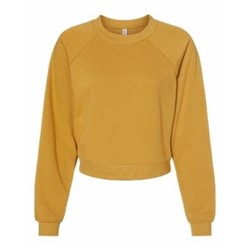 Bella | BELLA - Women's Raglan Fleece Sweatshirt