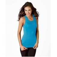 Bella | Bella LADIES' Baby Rib Wide Strap Tank