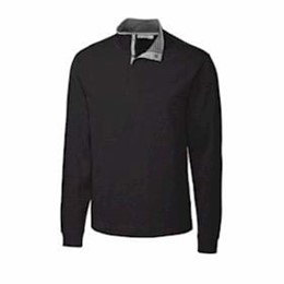 Cutter & Buck | Cutter & Buck TALL Pima Snap Placket Overknit