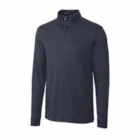 Cutter & Buck TALL L/S Pima Belfair Zip Mock