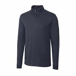 Cutter & Buck | Cutter & Buck TALL L/S Pima Belfair Zip Mock