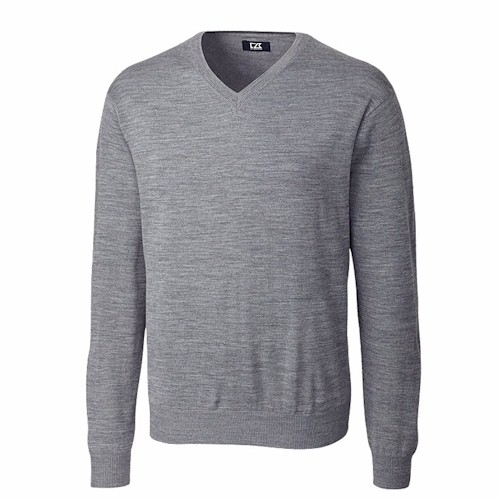 Cutter & Buck TALL Douglas V-Neck Sweater