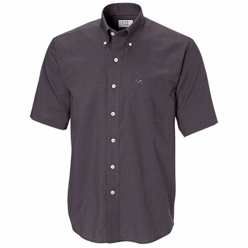 Cutter & Buck S/S TALL Easy Care Nailshead Shirt