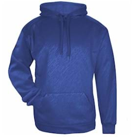 Badger Line Embossed Hooded Sweatshirt