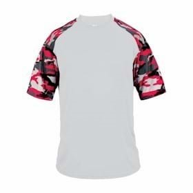 BADGER YOUTH Camo Sport Tee