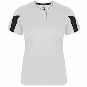 Badger GIRLS Striker Placket Jersey