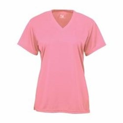 Badger | BADGER LADIES' B-Core S/S V-Neck Tee