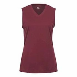 Badger | Badger LADIES' B-Dry Sleeveless V-Neck