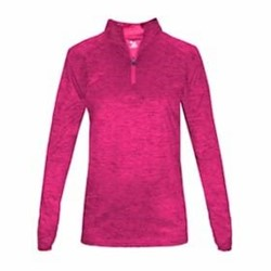 Badger | Badger LADIES' Tonal Blend 1-4 Zip Pullover
