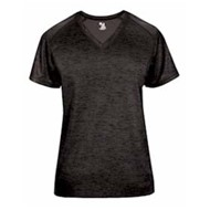 Badger | Badger LADIES' Tonal Blend V-Neck Tee