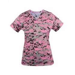 Badger | BADGER LADIES' Digital V-Neck Shirt