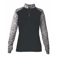 Badger | Badger LADIES' Sport Blend 1/4 Zip Pullover