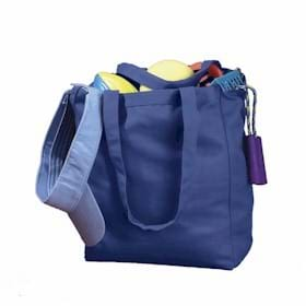 BAGedge 12 oz Canvas Book Tote