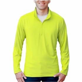 Blue Generation Solid Zip Pullover