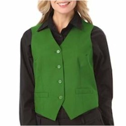 Blue Generation | Blue Generation LADIES' Teflon Treated Twill Vest