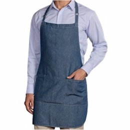 Blue Generation | Blue Generation Cotton Denim Bib Apron