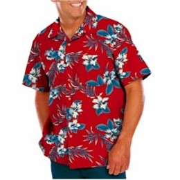 Blue Generation | BG Hibiscus Tropical Camp Shirt