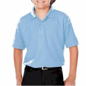 Blue Generation YOUTH Moisture Wicking Polo