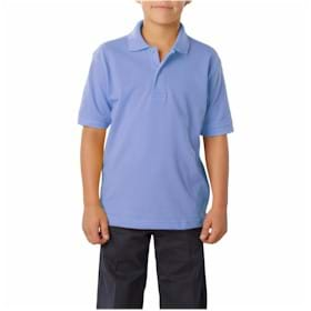 Blue Generation YOUTH Value Pique Polo