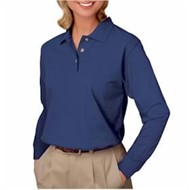 Blue Generation | BG Ladies L/S Pique Polo