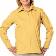 Blue Generation | LADIES' L/S Budget Friendly Poplin