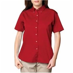 Blue Generation | BG LADIES' 100% Cotton Signature Twill Shirt