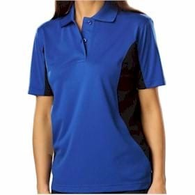 Blue Generation LADIES' Snag Resist Wicking Polo