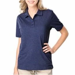 Blue Generation | Blue Generation LADIES' Heathered Polo