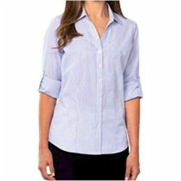 Blue Generation | Blue Generation Ladies L/S Stripe Shirt