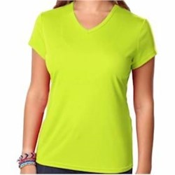 Blue Generation | BLUE GENERATION LADIES' Moisture Wicking V-Neck