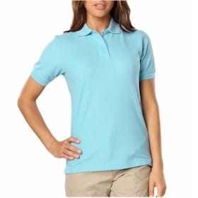Blue Generation LADIES' Value Pique Polo