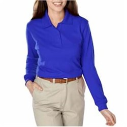 Blue Generation | Blue Generation LADIES' L/S Polo