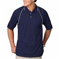 Blue Generation | Blue Generation Wicking Polo w/ Contrast Piping
