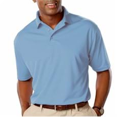 Blue Generation Snag Resistant Wicking Polo