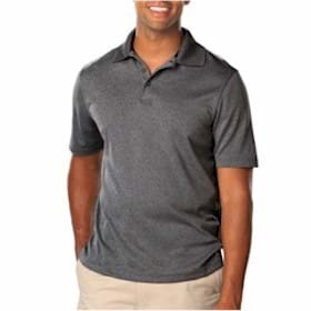 Blue Generation Heathered Polo