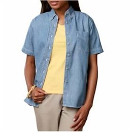 Blue Generation | BG Ladies S/S Denim w/Pocket