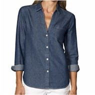 Blue Generation | Blue Generation Ladies L/S Untucked Denim