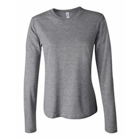 L/S Bella Women's 5 oz. Cotton Crew Neck J